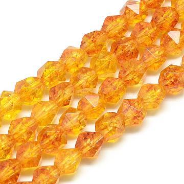 10mm Round Citrine Beads