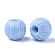 Handmade Raffia Woven Beads(WOVE-Q077-20C-04)-2