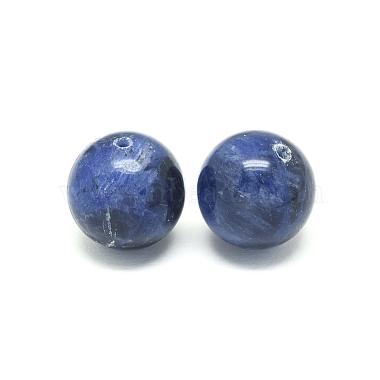 Natural Sodalite Beads(G-F222-39A-14mm)-2