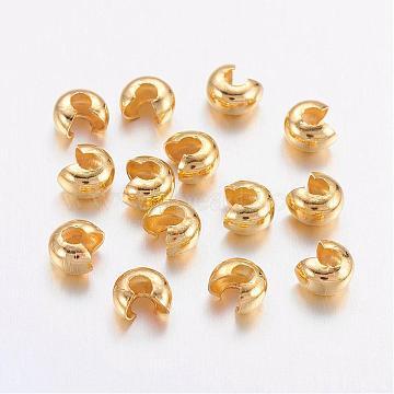 Golden Brass Beads