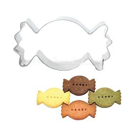 304 emporte-pièces en acier inoxydable, moules à biscuits, outil de cuisson biscuit, candy, couleur inox, 40x84x17 mm(DIY-E012-70)