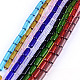 Transparent Glass Bead Strands(GLAA-R162-10x4-M)-1