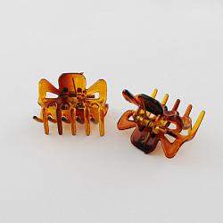 acryliques clips de cheveux de griffe, Sienna, 21x16 mm(PHAR-S084-21x16mm)
