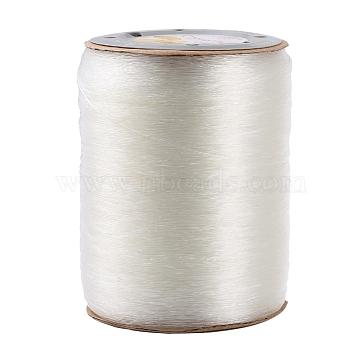 Korean Elastic Crystal Thread, Clear, 0.8mm, about 1093.61 yards(1000m)/roll(EW-KW0.8MM)