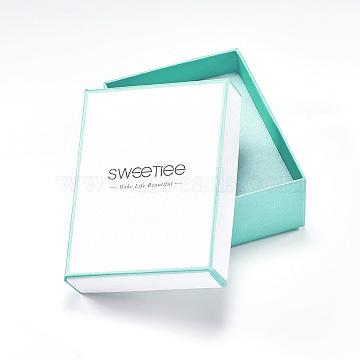 White Rectangle Paper Bracelet Box
