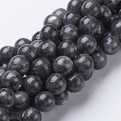 15.5inches Natural Labradorite Beads Strands, Round, bead: 12mm, hole: 1mm, 34pcs/strand