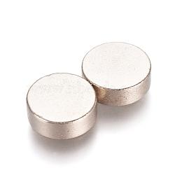 aimants ronds pour réfrigérateur, aimants de bureau, aimants pour tableau blanc, mini aimants durables, 8x2.5 mm(AJEW-D044-03B-8mm)