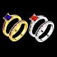 Fashion Brass Cubic Zirconia Rings(RJEW-BB20711-G-7)-2