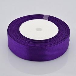 Поделки Рукоделие волос атласная лента, фиолетовые, около 1