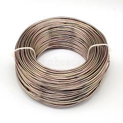 Fil d'aluminium, chameau, Jauge 20, 0.8 mm; 300 m / 500 g(AW-S001-0.8mm-15)