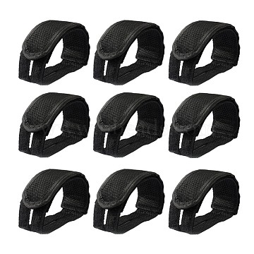 Black Plastic Boot Strap Chains