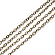 Brass Cable Chains(X-CHC-T008-06A-AB)-1
