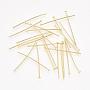3cm Golden Brass Pins(HP3.0cmCY-G-NF)