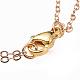 Zinc Alloy Enamel Double Layered Necklaces(NJEW-JN02489-03)-4
