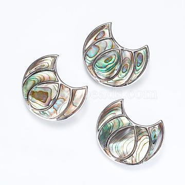 Platinum Moon Brass+Shell Links