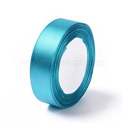 Атласная лента, темно-синие, около 1