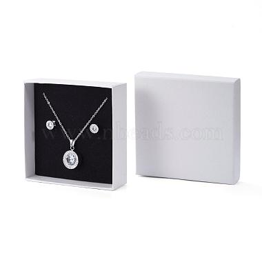 Cardboard Gift Box Jewelry Set Boxes(X-CBOX-F004-01B)-3