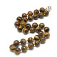 Natural Tiger Eye Beaded Necklaces(NJEW-S404-12)-1