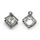 Rhombus Alloy Charms(ZIRC-R007-053A-01)-2