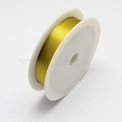 железная проволока, золото, 0.3 mm, 20 м / рулон, 10 рулонов / набор(MW-R001-0.3mm-02)