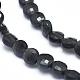 Natural Obsidian Beads Strands(G-D0003-A27)-3