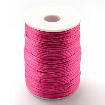 1.5mm Cerise Polyester Thread & Cord
