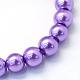 Chapelets de perles rondes en verre peint(X-HY-Q003-6mm-27)-2