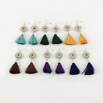 Mixed Color Brass Earring Making