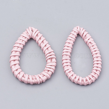 47mm Pink Drop Others Linking Rings