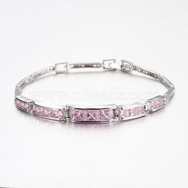 PearlPink Cubic Zirconia Bracelets