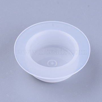 Plastic End Caps, Glue Dispensing Industrial Syringe Barrel End Cover, Clear, 23~32.5x11mm(TOOL-WH0103-05B)
