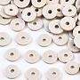 Gainsboro Disc Polymer Clay Beads(CLAY-R067-4.0mm-B02)