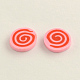Handmade Polymer Clay Cabochons for Ear Studs Making(X-CLAY-R057-18G)-1