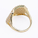 Brass Micro Pave Cubic Zirconia Finger Rings(RJEW-E145-03G)-3