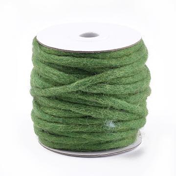 Green Wool Thread & Cord