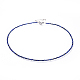 Natural Lapis Lazuli Beaded Necklaces(NJEW-JN02492-01)-1