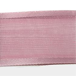 Polyester Organza Ribbon with Satin Edge, Rosy Brown, 5/8 inch(16mm); about 50yards/roll(45.72m/roll)(ORIB-Q022-16mm-172)