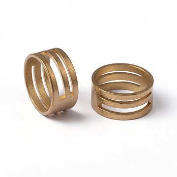 Brass Buckling Ring Tools, Assistant Tool, for Open and Close Jump Rings,  Raw(Unplated), Nickel Free, about 17mm inner diameter(X-EC373-G)