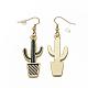 Alloy Enamel Dangle Earrings(EJEW-Q699-16MG-NR)-2