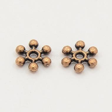 Mixed Tibetan Silver Snowflake Spacer Beads(X-TIBEB-X0009)-2