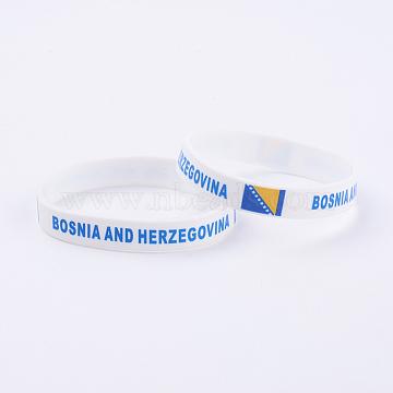White Silicone Bracelets