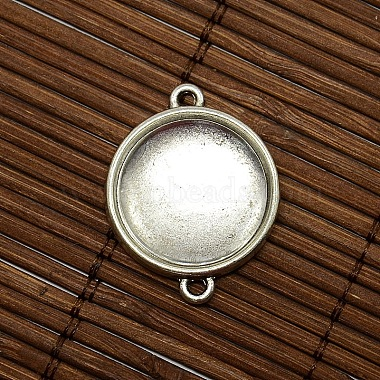 20mm Clear Domed Glass Cabochon Cover for Flat Round DIY Photo Alloy Link Making(DIY-X0106-AS-LF)-2