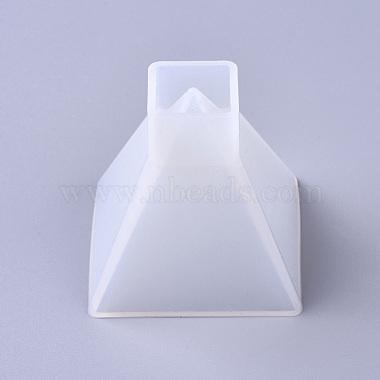White Pyramid Silicone