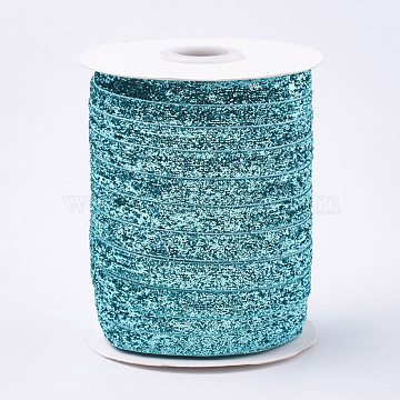 Turquoise Polyester Ribbon