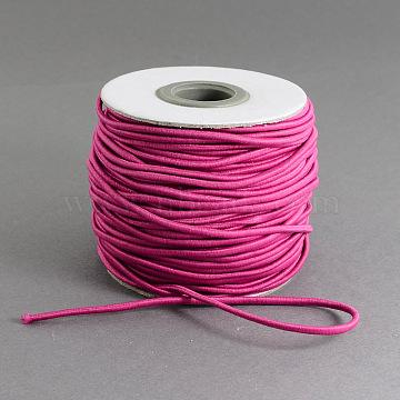 1mm MediumVioletRed Elastic Fibre Thread & Cord