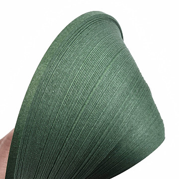 Quilling Paper Strips, Green, 390x3mm; about 120strips/bag(DIY-J001-3mm-B38)