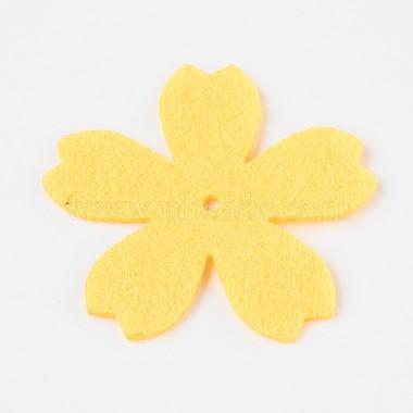 Sakura Non Woven Fabric Embroidery Needle Felt for DIY Crafts(X-DIY-WH0078-02)-3