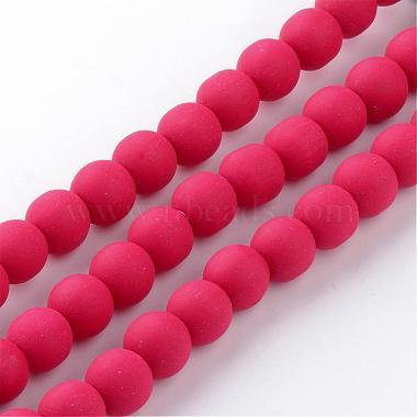 Chapelets de perle en pâte polymère manuel(CLAY-Q227-M)-3