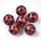 perles acryliques imprimés(X-OACR-S022-15D)-1
