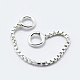 Sterling Silver Box chain(STER-K171-10S)-2